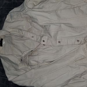 Lane bryant  cream denim jacket